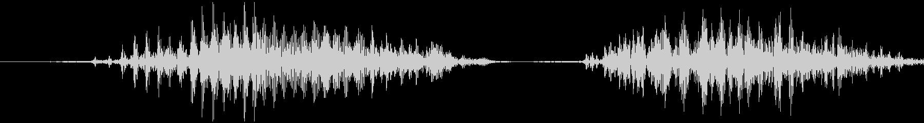 スマイルハンマー ビヨッ(低め)の未再生の波形
