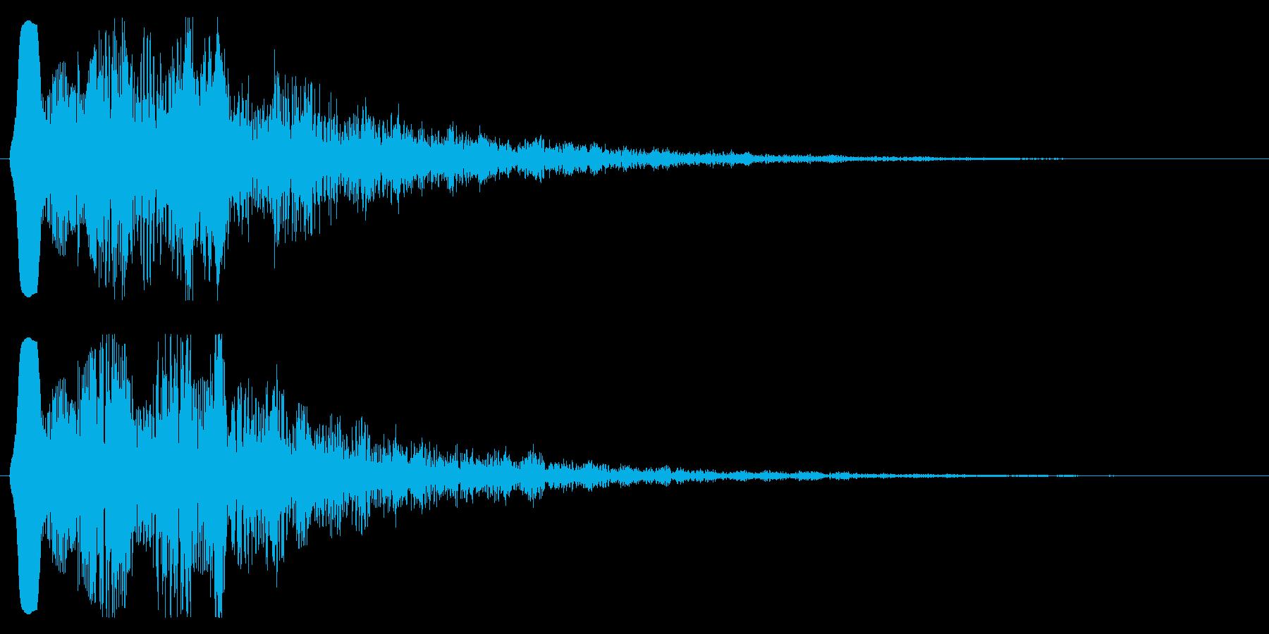 魔法音 エネルギー系 回復 聖 光 ぽよの再生済みの波形