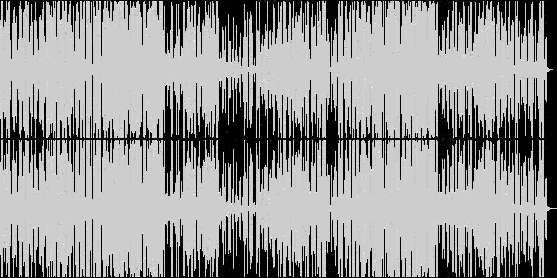 EDM トロピカル 楽しい TRAPの未再生の波形