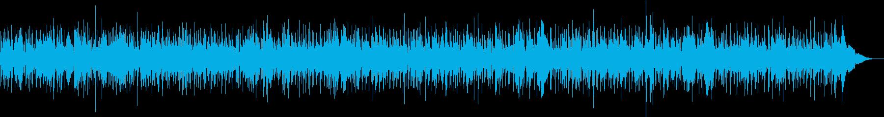 ほのぼのとしたハーモニカ中心のフォークの再生済みの波形