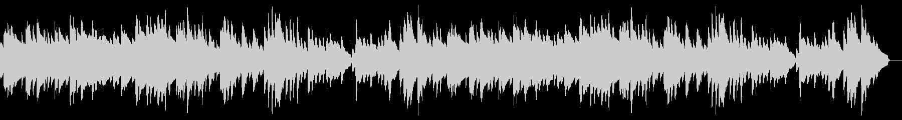 もの哀しい静かな曲 ビブラフォン ハープの未再生の波形