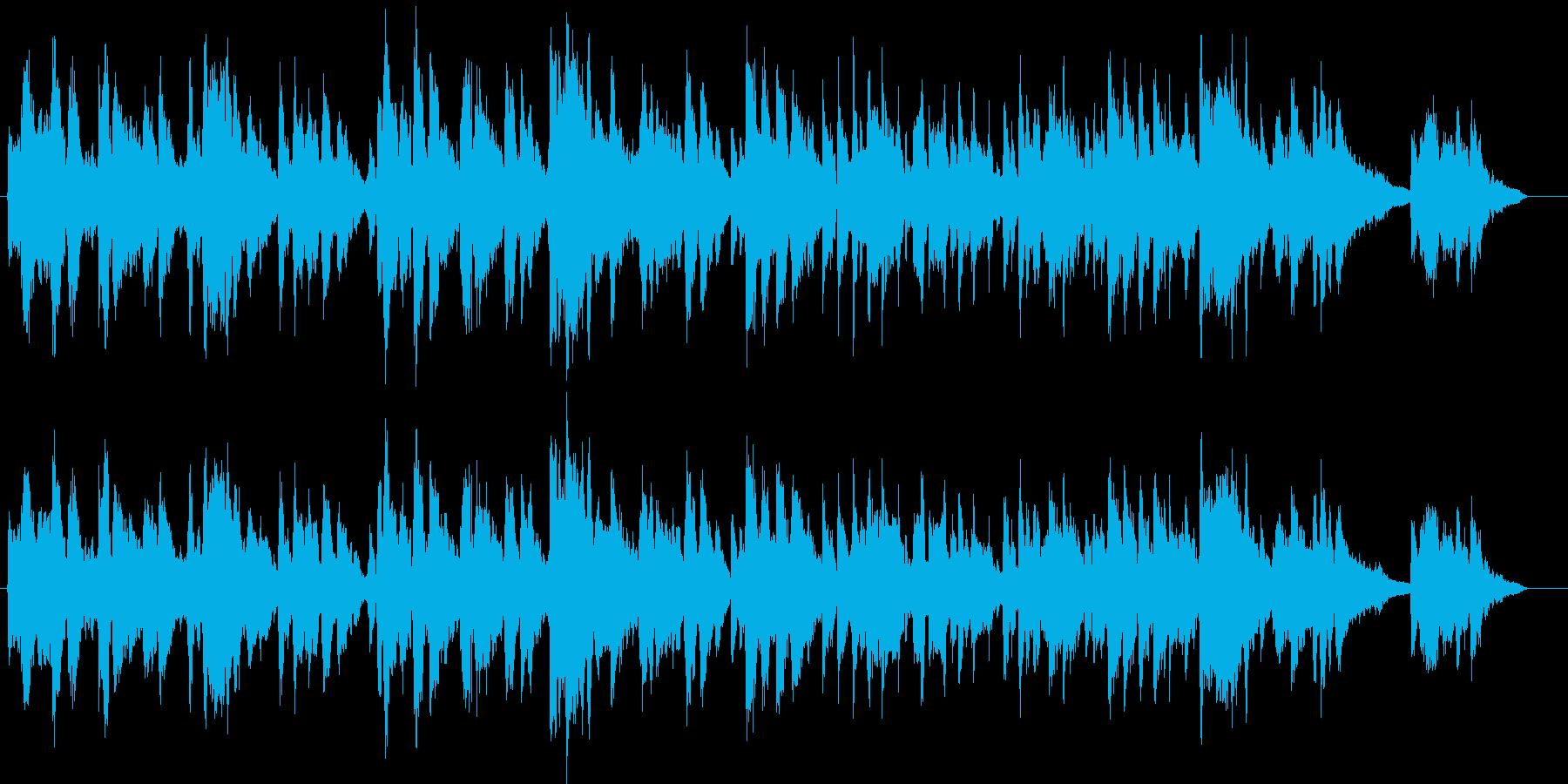 カントリーブルーグラス アメリカ国歌の再生済みの波形