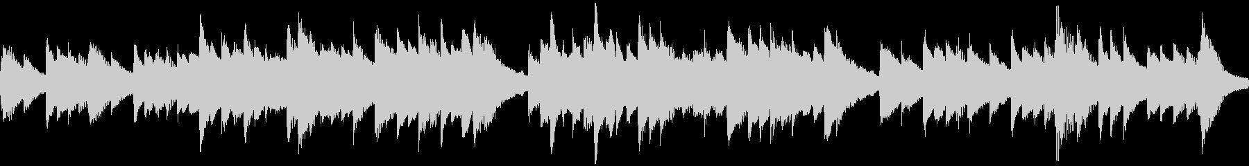 古歌「さくらさくら」ループ仕様ピアノソロの未再生の波形