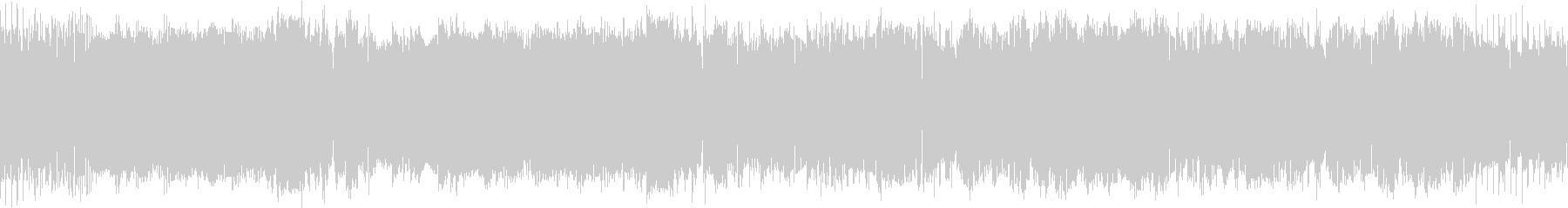 ファミコン音色のゲーム音楽の未再生の波形