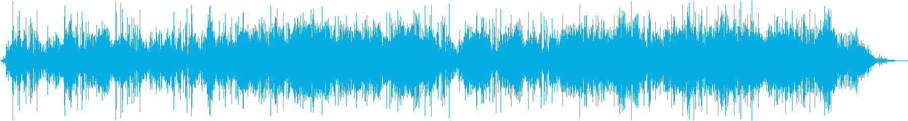 Fluttering fluffy underwater ambient's reproduced waveform