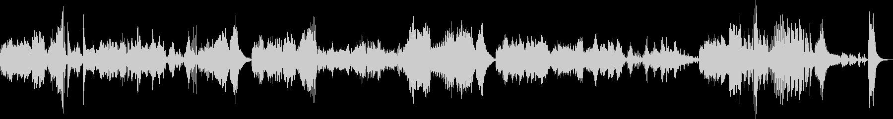 ベートーヴェンピアノソナタ悲愴第三楽章の未再生の波形