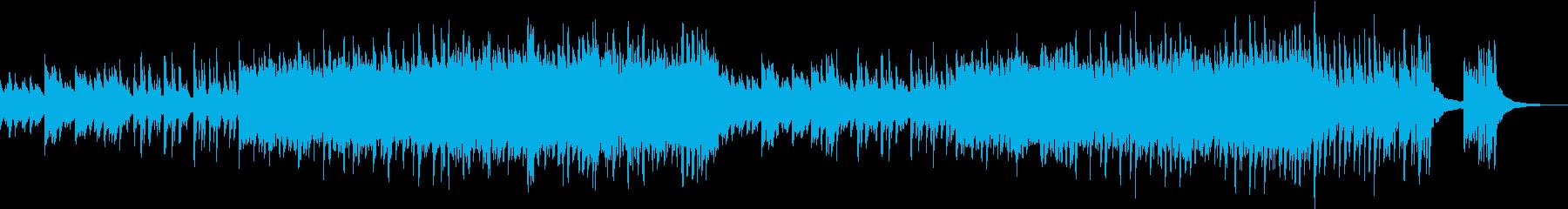 切ないピアノの応援ソングの再生済みの波形