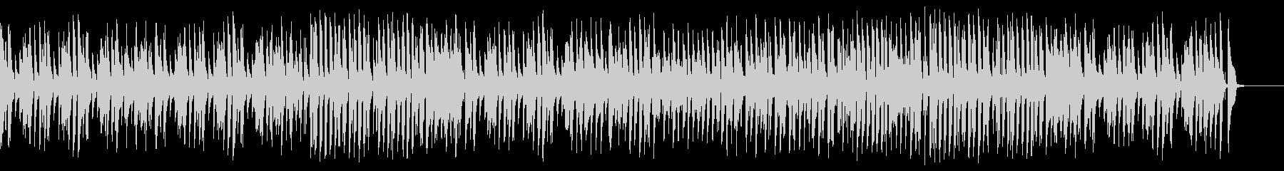 気軽でウキウキお洒落ジャズピアノの未再生の波形