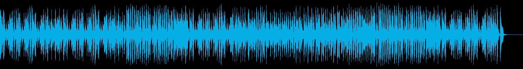 気軽でウキウキお洒落ジャズピアノの再生済みの波形