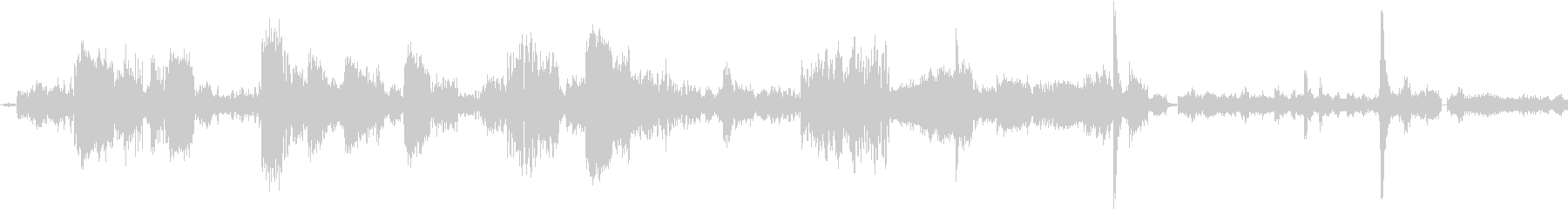 電子テレメトリ:データの完全性、通...の未再生の波形