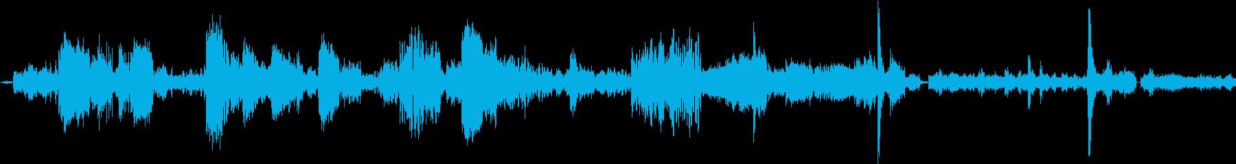 電子テレメトリ:データの完全性、通...の再生済みの波形