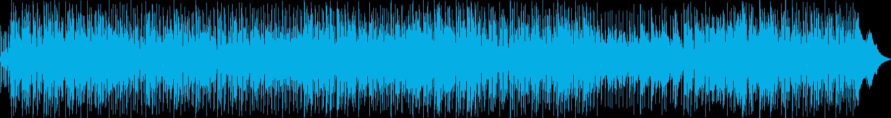 おしゃれな空気感の洋楽の再生済みの波形