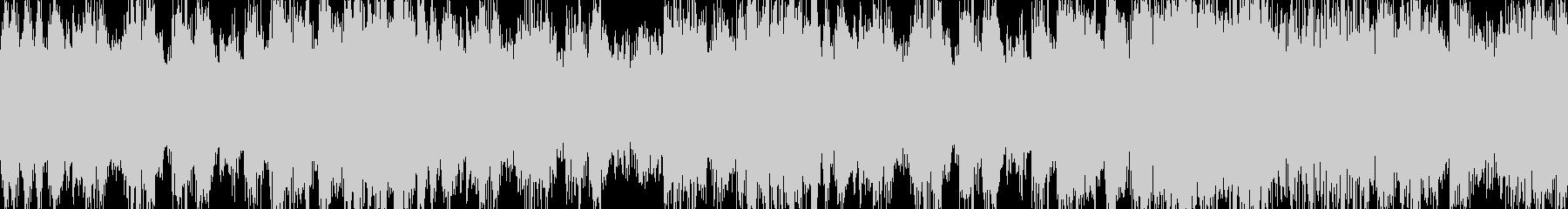勇壮なオーケストラ風短BGM ループ曲の未再生の波形
