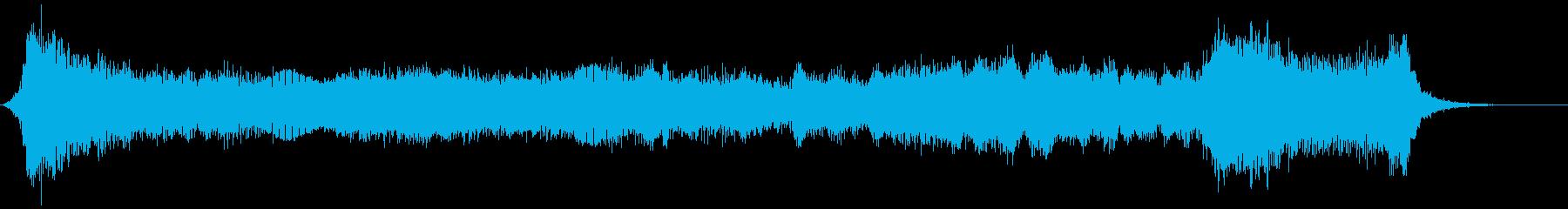 ハロウィン向け15秒ジングル オルガン2の再生済みの波形