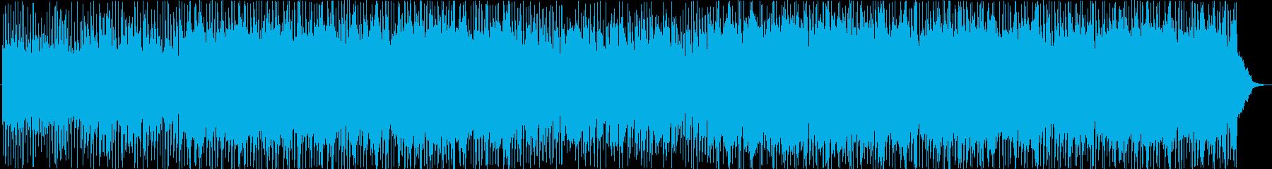 ピアノドキュメンタリートラックの再生済みの波形
