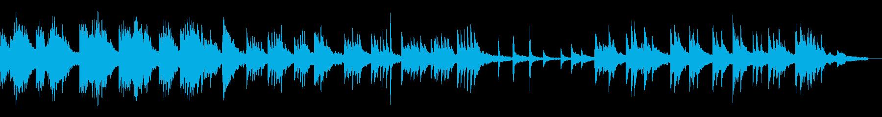 ヒーリングピアノ組曲  ただよう 1の再生済みの波形