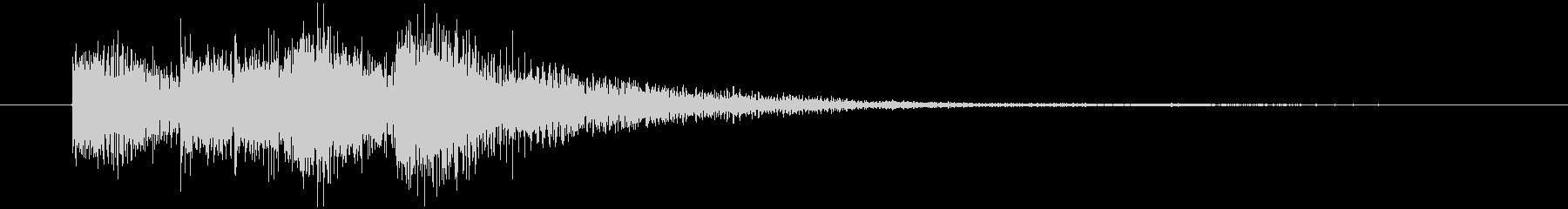 サウンドロゴ・オーケストラ(軽やか)の未再生の波形