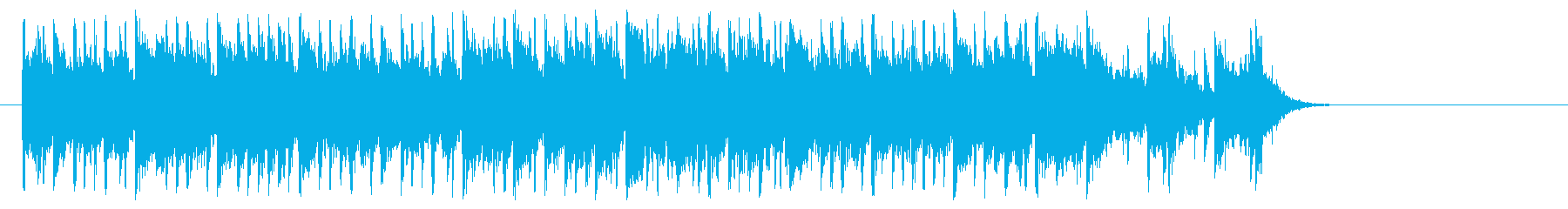 新生活へと出発するポップ(サビ~エンド)の再生済みの波形