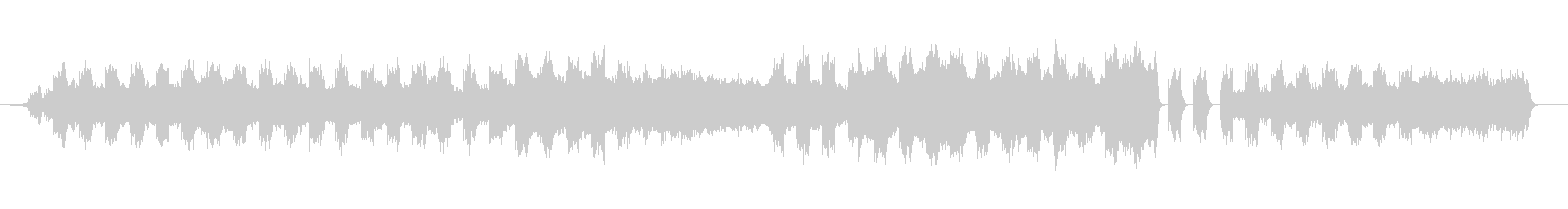 海流(オーシャン・カレント)の未再生の波形