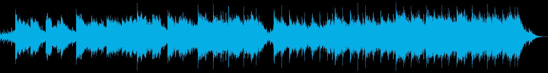 現代的 交響曲 アンビエント ドラ...の再生済みの波形