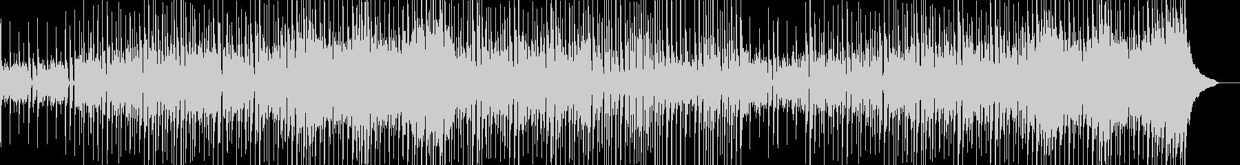 明るく楽しいシンプルなサウンドの未再生の波形