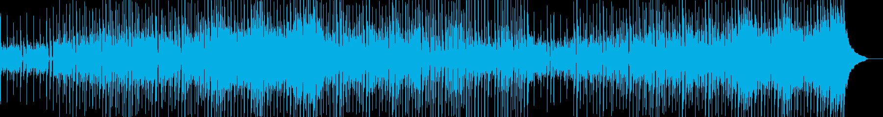 明るく楽しいシンプルなサウンドの再生済みの波形