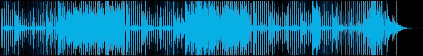 ほのぼのした雰囲気のピアノのポップスの再生済みの波形