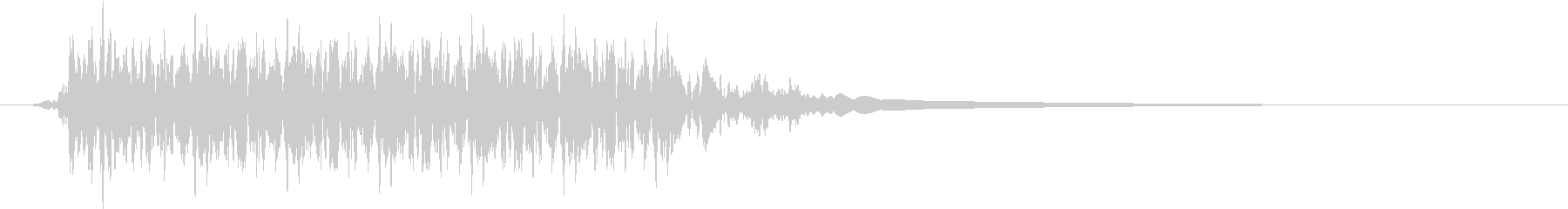 Push 汎用決定・セレクト音 10の未再生の波形