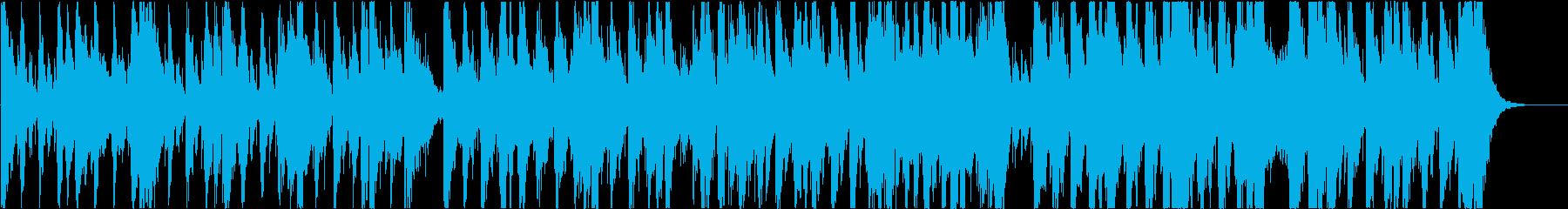 ハロウィーン、ゴースト、オーケストラの再生済みの波形