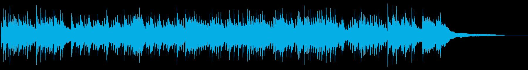 しっとり和風ピアノソロ、はんなり、切ないの再生済みの波形