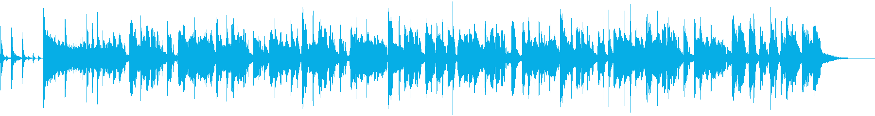 ファンキーなジャズは、エレクトリッ...の再生済みの波形