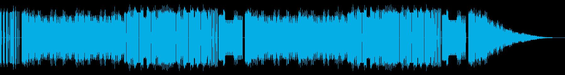 FC風コミカルなオープニングの再生済みの波形