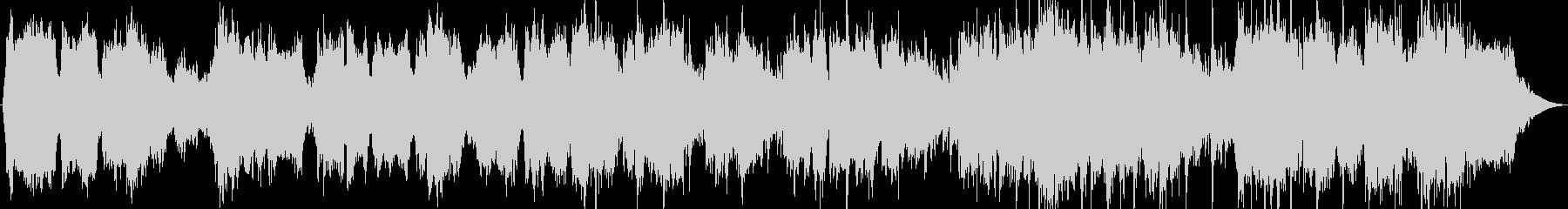 竹笛とシンセサイザーのヒーリング音楽の未再生の波形