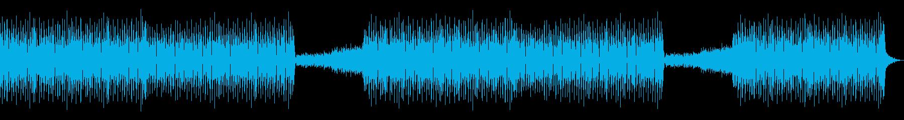 メロディーなしの再生済みの波形