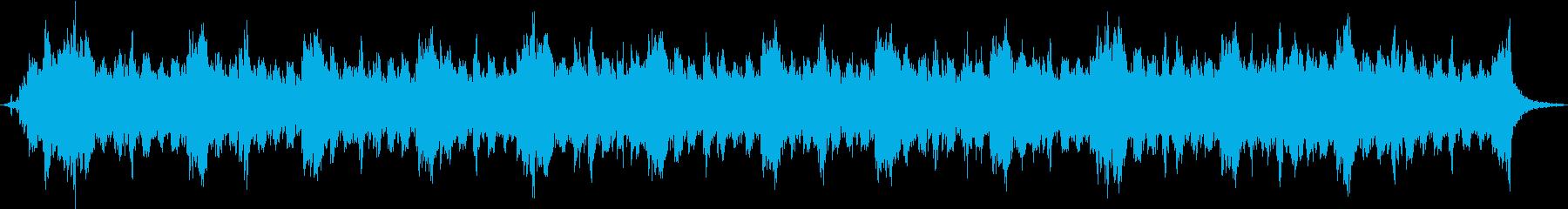 幻想的なハープ曲、ダークファンタジーの再生済みの波形