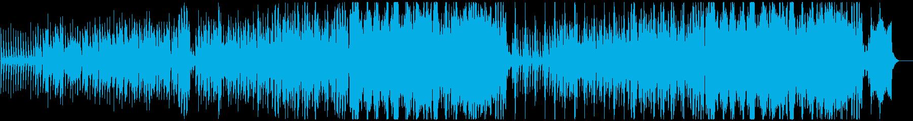 軽やかで暖かみのあるクリスマスBGMの再生済みの波形