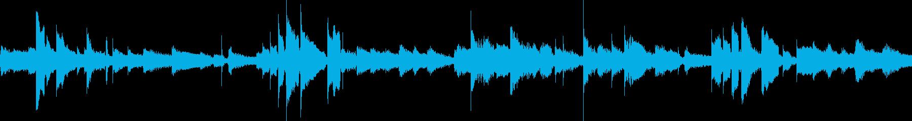 アンビエントキーとアコースティック...の再生済みの波形