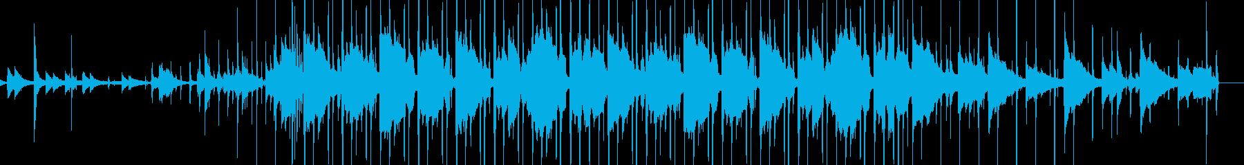 哀愁があるローファイ・ヒップホップの再生済みの波形
