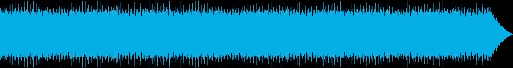 ゆっくりとしたテンポのケルト音楽の再生済みの波形