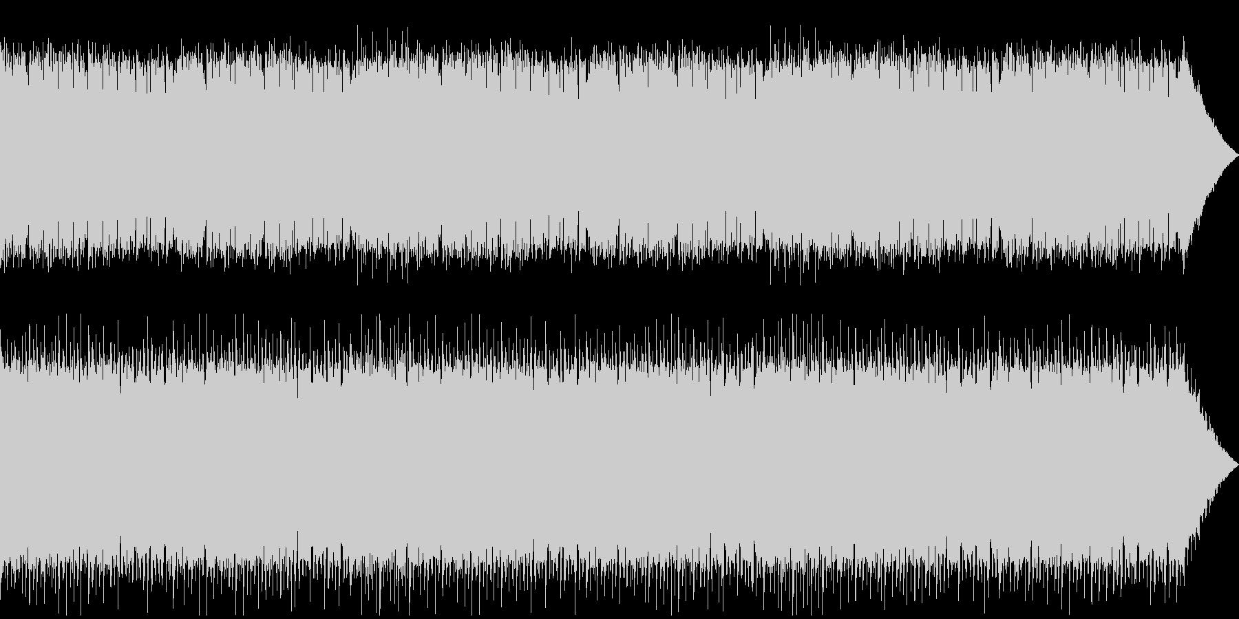 ゆっくりとしたテンポのケルト音楽の未再生の波形