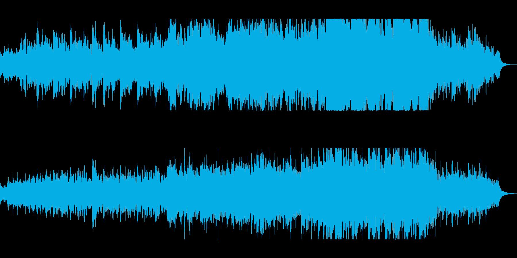 ハープの透明感のある音色が特徴のバラードの再生済みの波形