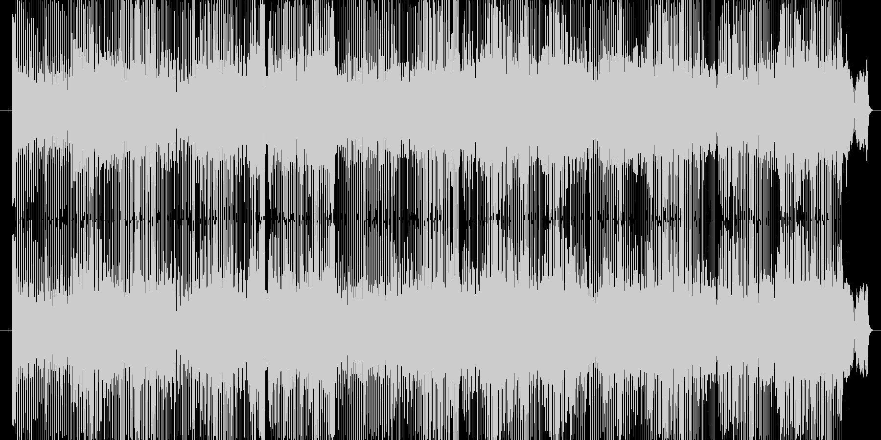 2008年作オリジナル曲ヤマハエレクト…の未再生の波形