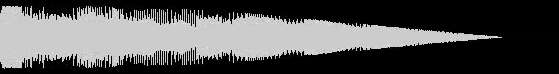 ッフォゥーーー(SF、ロゴ、タイトル等)の未再生の波形