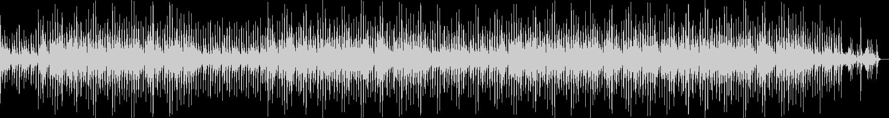 ジャズテイストBGMの未再生の波形