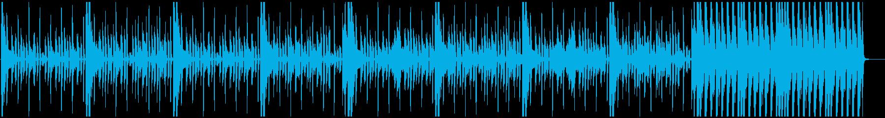 クラビネットとクラップのクールなファンクの再生済みの波形