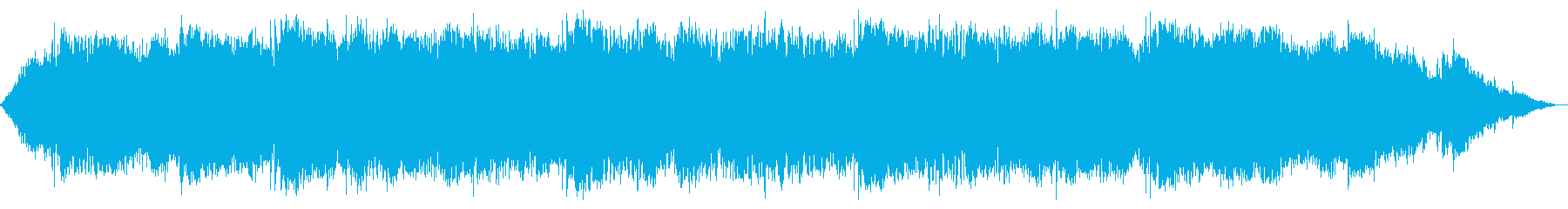 スピリチュアルなケーナ即興音楽の再生済みの波形