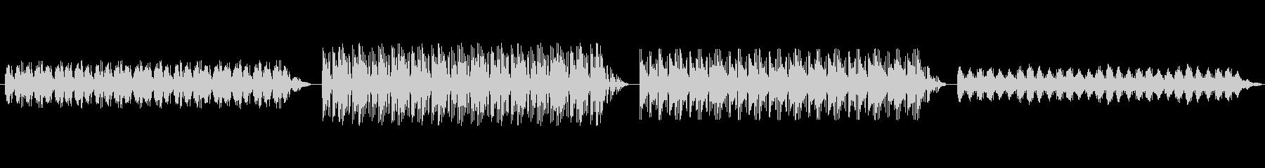 ショートBGM:神秘的・幻想的の未再生の波形