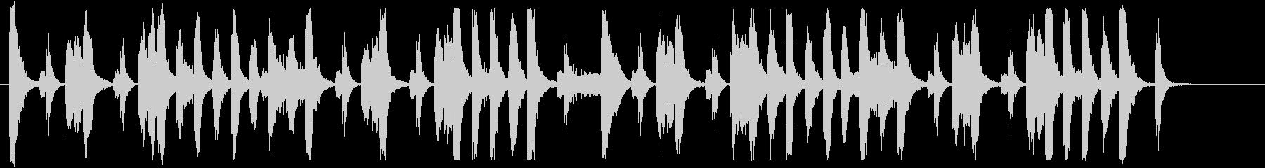 元気のいいポップなブラスジングル 18秒の未再生の波形