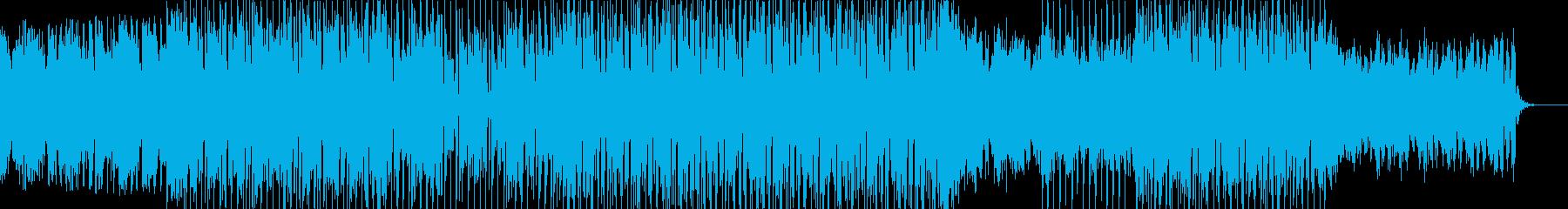 ローファイで近未来的で心地良いテクノの再生済みの波形