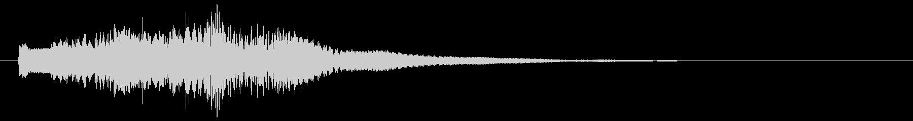 シタールが奏でるアラビアン調のジングルの未再生の波形